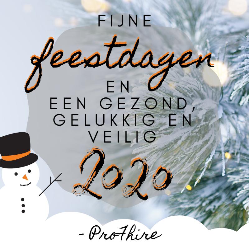 Kerstgroet namens ProFhire