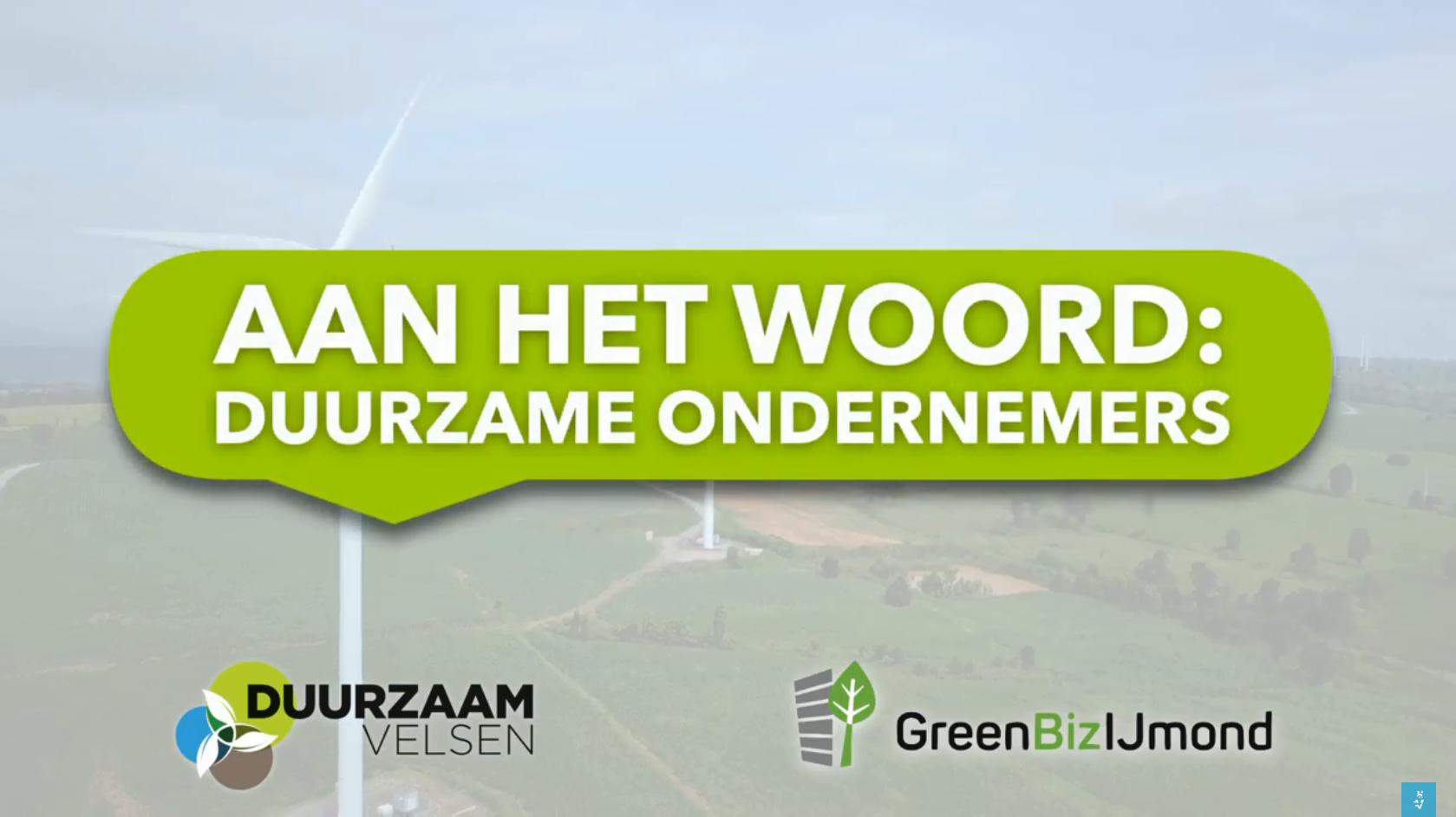 Duurzaam ondernemen met GreenBiz IJmond